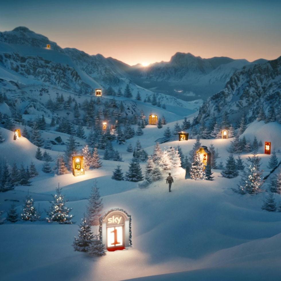 Sky Weihnachten