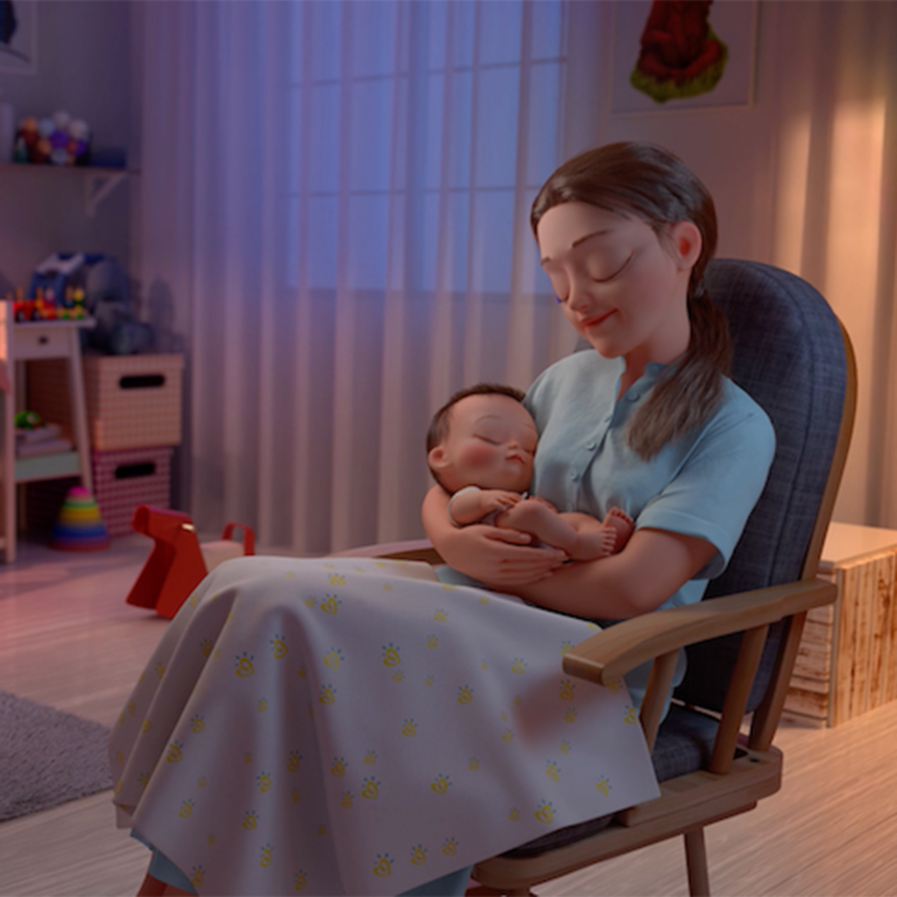 Serviceplan Korea: Your Baby's Dream Never Stops With Pampers